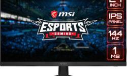 Игровой монитор MSI Optix G271 обладает поддержкой AMD FreeSync
