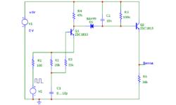 Измерения малых ёмкостей (аналоговый ёмкостной датчик)