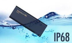 Карманный SSD-накопитель Team Group PD1000 не боится воды