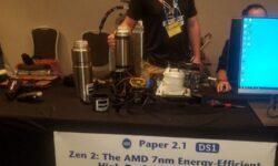 Команда оверклокеров AMD попала впросак с разгоном Ryzen Threadripper 3990X на ISSCC 2020