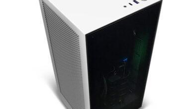 Фото Компактный компьютер NZXT BLD H1 оснащён чипом Intel Core i9