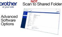 Кратко о том, как научить МФУ Brother сканировать в Windows Server