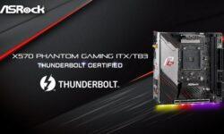 Материнская плата для AMD Ryzen с Thunderbolt 3 впервые сертифицирована Intel
