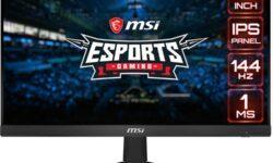 MSI Optix G241: монитор для киберспорта с частотой обновления 144 Гц