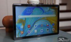 Новая статья: Обзор Huawei MediaPad M6 10.8: мощный планшет Huawei, но без сервисов Google