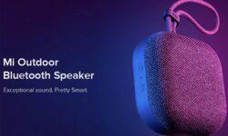 Новый динамик Xiaomi Mi Outdoor Bluetooth Speaker: защита от влаги и до 20 часов музыки