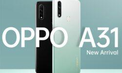 OPPO A31: смартфон-середнячок с тройной камерой и 6,5″ экраном HD+