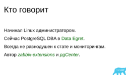 Основы мониторинга PostgreSQL. Алексей Лесовский