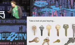 [Перевод] Конференция DEFCON 27. Изготовление дубликатов механических ключей с ограниченным доступом