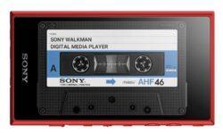 Плеер Sony Walkman NW-A105 выходит в России по цене от 22 990 рублей