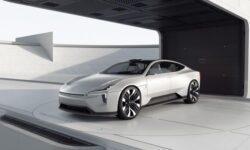 Polestar продемонстрировала концепт электромобиля Precept с поддержкой Android Automotive