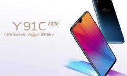 Смартфон Vivo Y91C 2020 оборудован 6,22″ экраном и процессором Helio P22