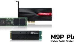 SSD-накопители Plextor M9P Plus представлены в трёх вариантах исполнения