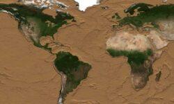 #видео   Как будет выглядеть Земля, если все океаны высохнут?