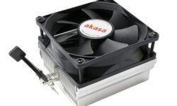 Высота нового кулера Akasa для чипов AMD составляет всего 55,5 мм