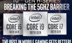 Характеристики и тесты процессора Intel Core i7-10750H семейства Comet Lake-H