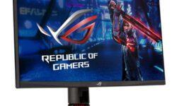 ASUS выпустила ROG Strix XG27WQ: 27″ 165-Гц изогнутый монитор с разрешением 1440p
