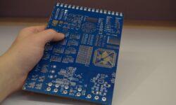 Блокнот с осциллографом и генератором частот (звуковой картой)
