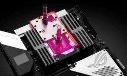 EK Water Blocks представила моноблок для платформы Socket sTRX4 и плат ASUS