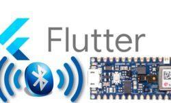 Flutter + arduino nano 33 BLE sense = очень простой BLE sensor