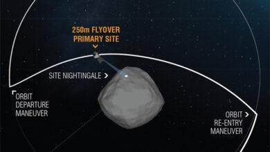 Фото Фото дня: самые качественные снимки астероида Бенну