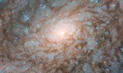Фото дня: в «сердце» спиральной галактики