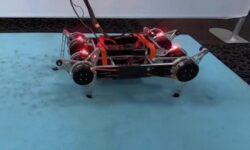 Google создала робота, способного самостоятельно научиться ходить по разной поверхности