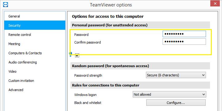 Фото Как TeamViewer хранит пароли