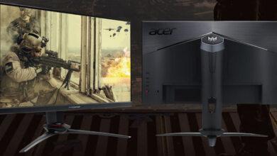 Фото Новые мониторы Acer Predator для игр обладают частотой обновления 240 Гц