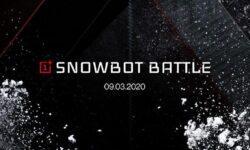 OnePlus предлагает поиграть в снежки роботами Snowbots с поддержкой 5G
