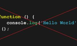[Перевод] Почему пора перестать использовать JavaScript IIFE