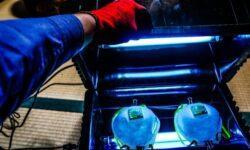 [Перевод] Ультрафиолетовая стерилизационная коробка для повторного использования одноразовых масок