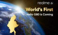 Realme 6i станет первым в мире смартфоном на Helio G80