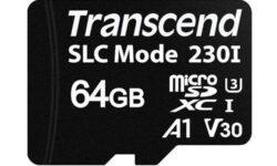 Transcend USD230I — карта памяти microSDXC с поддержкой SLC-кеширования