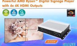 Встраиваемая система iBase SI-324-N позволяет сформировать видеостену