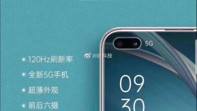 Фото Благодаря постерам раскрыты характеристики смартфона OPPO A92s: поддержка 5G и 120-Гц дисплей