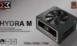 Блоки питания Xigmatek Hydra M получили модульную систему кабелей
