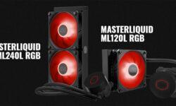 Cooler Master наделила новые СЖО вентиляторами SickleFlow с RGB-подсветкой