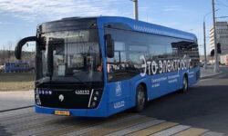 Электробусы «КАМАЗ» начали курсировать по новым московским маршрутам