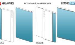 Huawei раздумывает над смартфонами с «растягивающимся» дисплеем