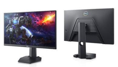 Фото Игровой монитор Dell S2421HGF формата Full HD имеет частоту обновления 144 Гц