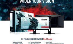 IIYAMA выпустила игровой 34-дюймовый IPS-монитор G-Master GB3461WQSU Red Eagle