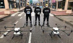 Испания — первая страна ЕС, использующая дроны DJI для дезинфекции против Covid-19
