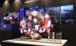 LG представит коммерческий образец прозрачного OLED-экрана в ближайшее время