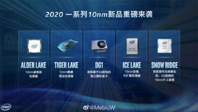 Фото Настольные 10-нм процессоры Intel Alder Lake-S могут выйти уже в этом году