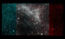 Опубликовано фото туманности «Калифорния» — прощальный подарок телескопа Spitzer