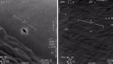Фото Пентагон подтвердил подлинность видео с НЛО