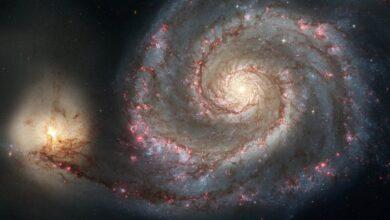 Фото Почему некоторые галактики спиральной формы?