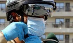 Полиция ОАЭ получила смарт-шлемы для борьбы с распространением коронавируса