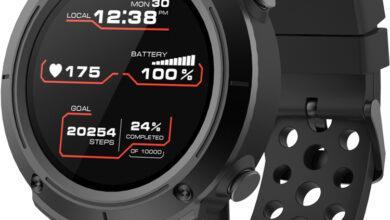 Фото Смарт-часы Canyon Wasabi для спортсменов снабжены датчиком пульса